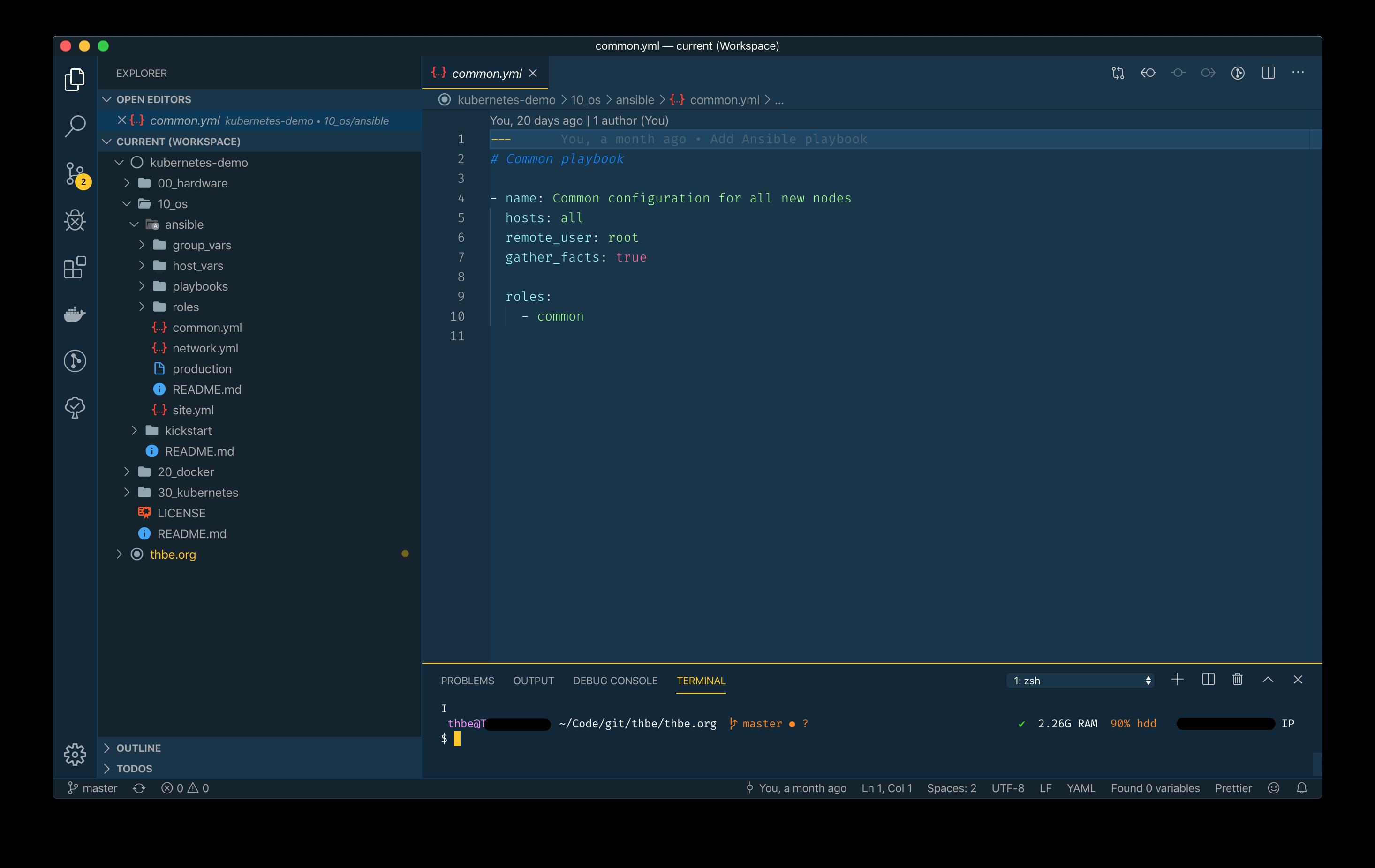 Customized VS Code