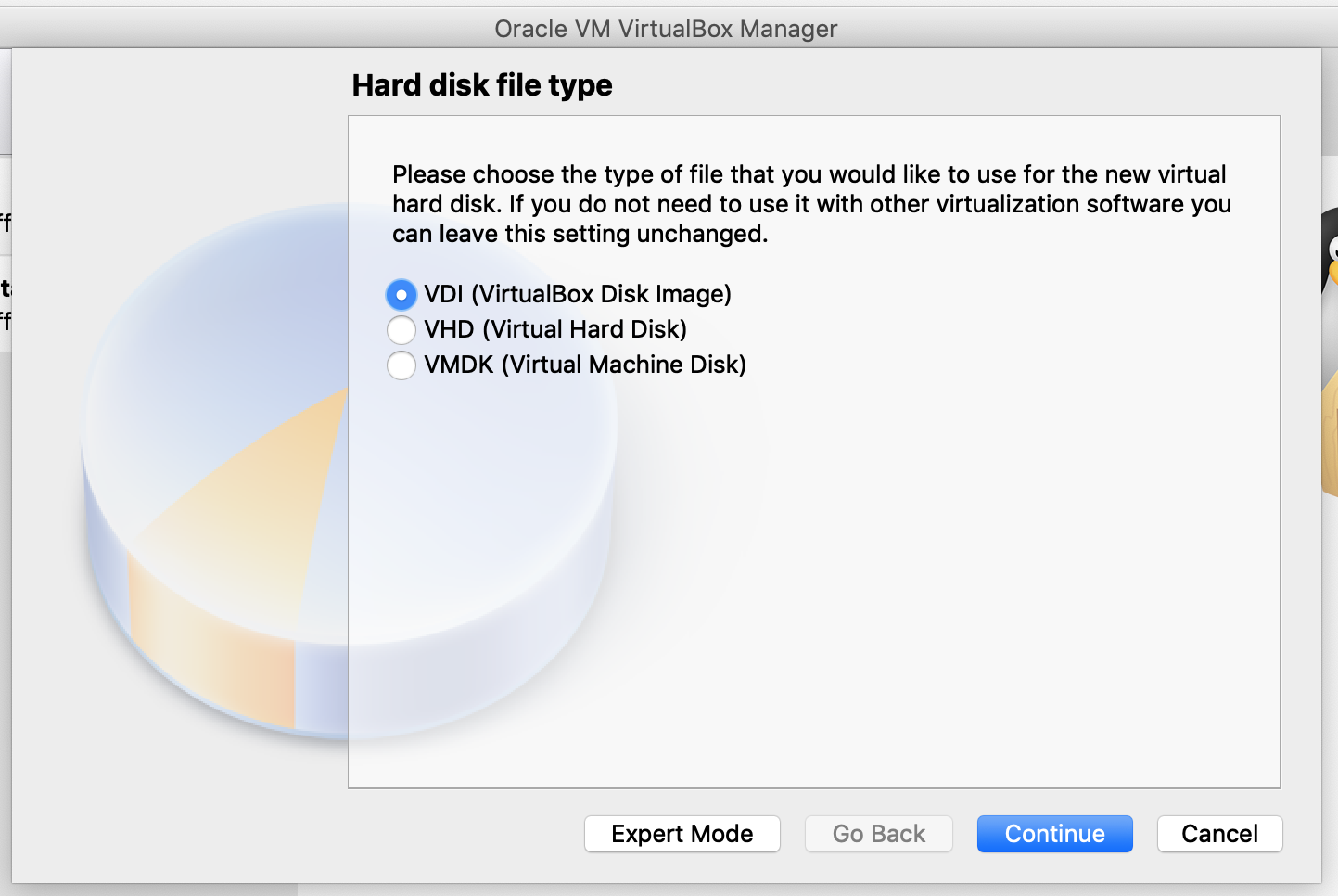 VirtualBox create worker node VM